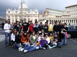 Las imágenes de Italia.